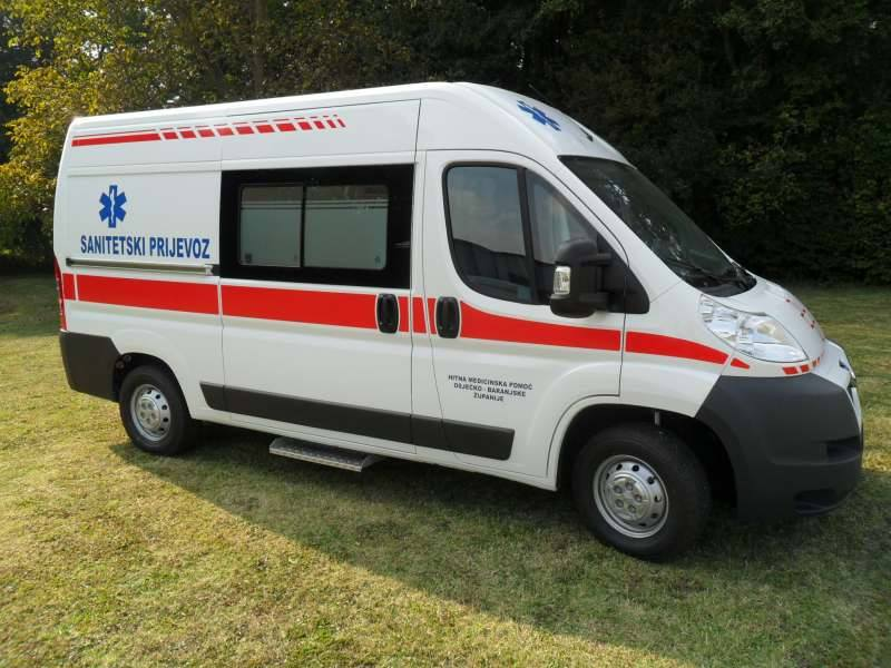 MS AMBULANCE MODEL M0