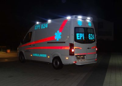 MS ambulance Mercedes Benz 316 319