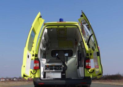 MS ambulance Volkswagen Transporter A