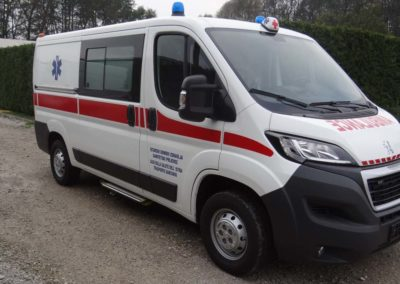 MS ambulance model M0 L2 H1