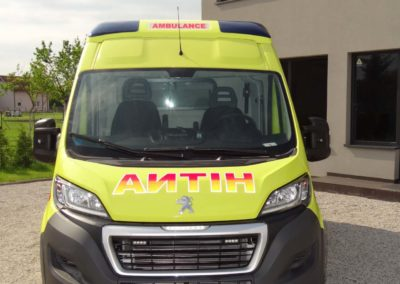 MS ambulance model M2