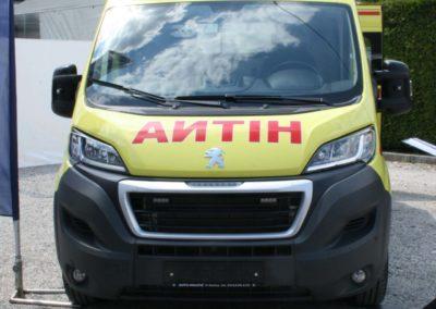 Ambulance vehicle