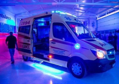 MS-Ambulance Mercedes-Benz