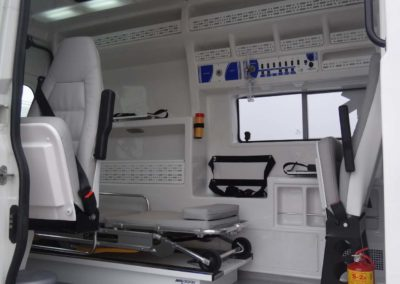 Ambulance seat