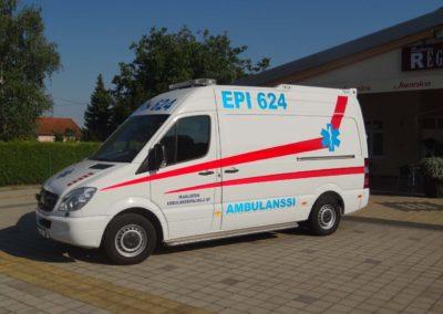 Prodaja vozila hitne pomoći