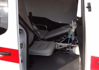 MS ambulance partner transport