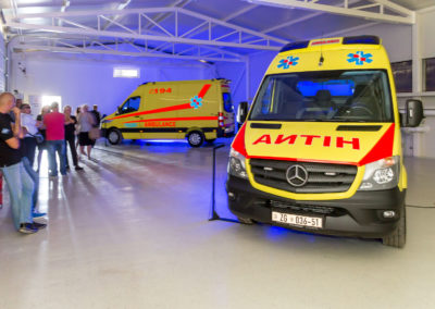 MS Ambulance prezentacija Mercedes